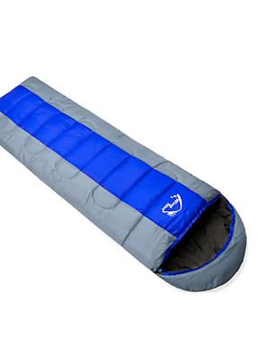 שק שינה שק שינה מלבני יחיד 0℃ כותנה חלולה 185cm+30cm X 75cm עמיד ללחות / עמיד למים / נשימה / מוגן מגשם / Keep Warm / מזג אוויר קר WINDTOUR