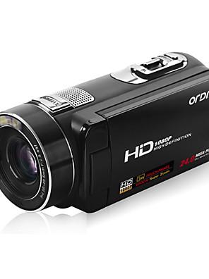 """ordro® מצלמת וידאו דיגיטלית 1080p-Z80 HDV / זום דיגיטלי 120X&10x זום אופטי / 3 """"מגע TFT מסך"""