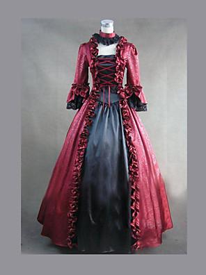 gotisk lolita klänning belle kappa tappning gotiska viktorianska klänning cosplay kostymer