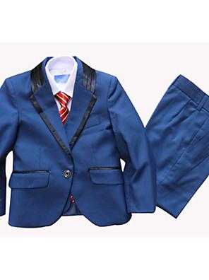 Směs polyesteru a bavlny Oblek pro mládence - 3 Pieces Obsahuje sako / Vesta / Kalhoty