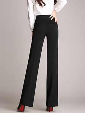 Dámské Do práce Rovné Polyester Lehce elastické Kalhoty