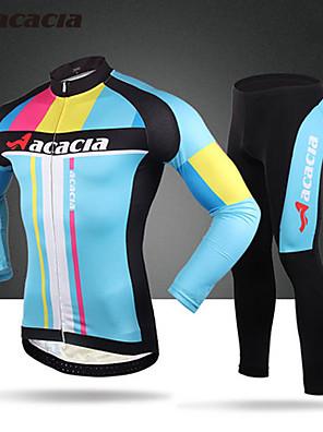 Acácia® Calça com Camisa para Ciclismo Homens / Unissexo Manga Comprida MotoRespirável / Secagem Rápida / Permeável á Humidade / Vestível