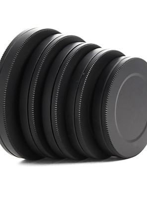 מתכת כובע אחורי עדשה הפילטר קדמי תיבת נייד מגן 37 / 40.5 / 43/46 / 49mm