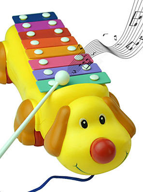 Cute Dog Colorful Beat Piano Musical Instruments Music Toys