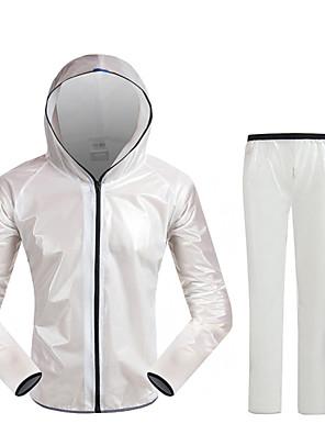 Acácia® Jaqueta com Calça para Ciclismo Unissexo Manga Comprida MotoImpermeável / Respirável / Secagem Rápida / A Prova de Vento / Á