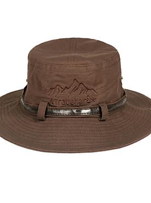 Chapéu de Sol Chapéu Resistente Raios Ultravioleta / Anti-Insectos / Materiais Leves / Macio Unissexo Branco AlgodãoIoga / Acampar e