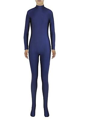 Unisex Zentai Suits Lycra / Spandex Ink Blue Zentai