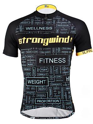 PALADIN® Camisa para Ciclismo Homens / Unissexo Manga Curta MotoRespirável / Secagem Rápida / Resistente Raios Ultravioleta / Compressão