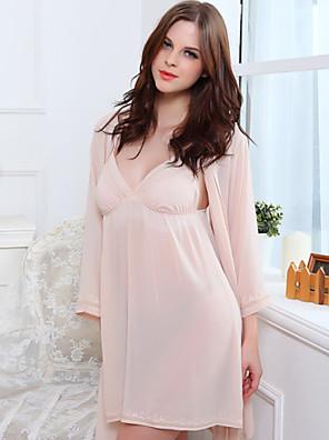 Ženy Šifon / Polyester Tenké Pyžama