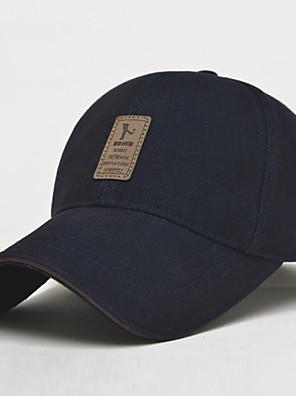 Boné Homens / Unisexo Protecção / Á Prova-de-Água cabeça Basebal Branco / Cinzento / Preto / Azul Escuro Pano de Algodão / Nailom