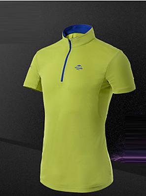 Homens Camiseta / Camiseta Polo Acampar e Caminhar / Alpinismo / Esportes Relaxantes / Ciclismo/Moto / CorridaRespirável / Redutor de