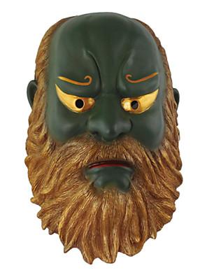 Máscara Monstros / Fantasias de Filme e Tema de TV Festival/Celebração Trajes da Noite das Bruxas Verde Estampado Máscara Dia Das Bruxas