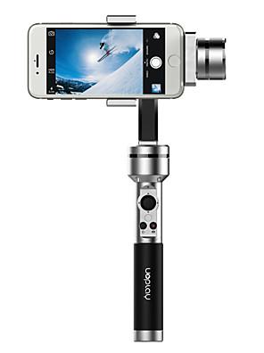 aibird uoplay 3-akse håndholdt universal smartphone støt kardan stabilisator til iphone samsung htc og GoPro hero 3 3+ 4