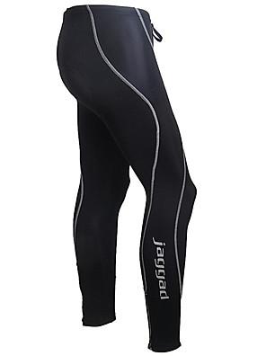 JAGGAD® מכנסי רכיבה לגברים אופניים נושם / ייבוש מהיר / רצועות מחזירי אור / 3D לוח טייץ רכיבה על אופניים / מכנסיים / תחתיות ניילון אחיד