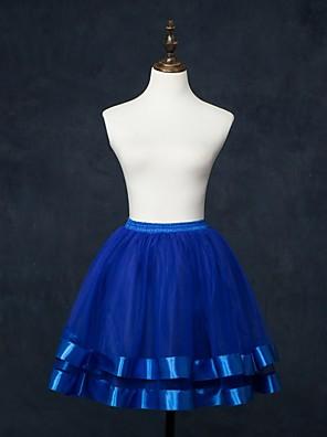 Anáguas(Rede Tule,Branco / Vermelho / Azul / Rosa / Marrom) -Slip de Baile-55cm-62cm-2