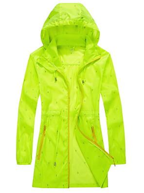 Trilha Blusas Mulheres / Unissexo Impermeável / Respirável / Secagem Rápida / Anti-Irradiação Primavera / Verão / Outono / InvernoBranco