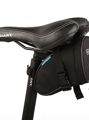 ROSWHEEL® Bolsa de BicicletaBolsa para Bagageiro de BicicletaÁ Prova-de-Água / Camurça de Vaca á Prova-de-Choque / Vestível /