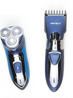 Electric Shaver Men Face Manual / Electric / Rotary Shaver / Shaving AccessoriesWaterproof / Wet/Dry Shaving / Pop-up Trimmers /