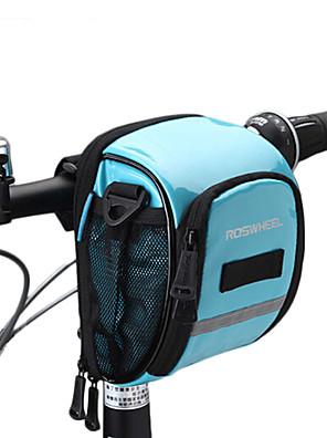 ROSWHEEL® Cyklistická taška 1.8LBrašna na řídítka Voděodolný zip / Odolný proti vlhkosti / Odolné vůči šokům / Nositelný Taška na koloPU