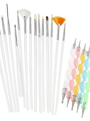 Nail Kit Nail Art Decoration Accessories søm DIY Akryl Sæt