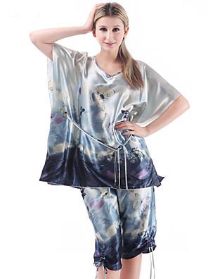 Ženy Viskóza Pyžama