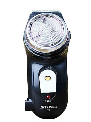 Elektrický holící strojek Muži Face Manuál / Rotační holící strojek Otočná hlavice Nerez SID