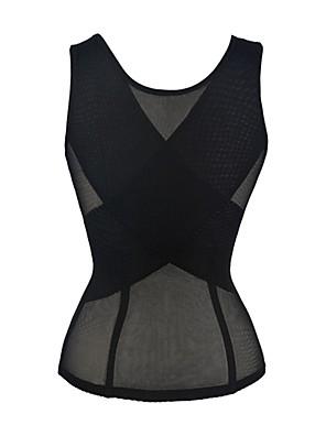 Ženy Korzet Noční prádlo Sexy Jednobarevné-Polyester Černá Dámské