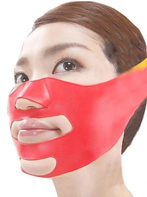 japansk magiska 3d massage mask ansiktslyftning plastsilikonmaterial