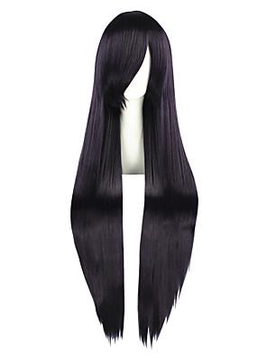 פאות קוספליי Mawaru-Penguindrum Ririchiyo Shirakiin סגול ארוך אנימה פאות קוספליי 100 CM סיבים עמידים לחום זכר / נקבה