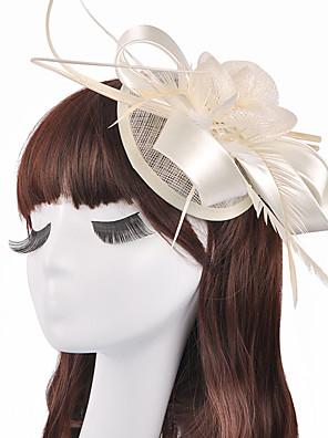 נשים / נערת פרחים פשתן כיסוי ראש-חתונה / אירוע מיוחד קישוטי שיער חלק 1