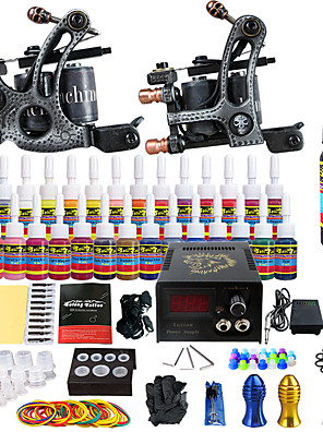 solong tattoo beginner tattoo kit pro 2 machines voeding naald grips tips ons dispatch
