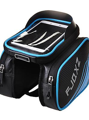 FJQXZ® תיק אופניים 3LLתיקים למסגרת האופניים עמיד למים / מוגן מגשם / רוכסן עמיד למים / חסין זעזועים / רב תכליתי / מסך מגע / מונע החלקהתיק