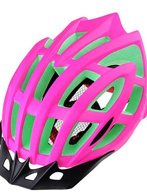 Capacete(Branco / Verde / Vermelho / Preto,PC / EPS) -Montanha / Estrada-Unisexo 15 AberturasCiclismo / Ciclismo de Montanha / Ciclismo