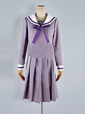 Noragami Hiyori Iki Dívčí Školní uniforma Cosplay kostým