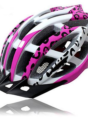 קסדה-לנשים-הר / כביש / ספורט-רכיבה על אופניים / רכיבה על אופני הרים / רכיבה בכביש / רכיבת פנאי(פוקסיה,PC / EPS)15 פתחי אוורור