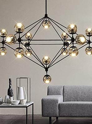Max 60W Csillárok ,  Modern/kortárs Festmény Funkció for LED / Dinmable Fém Nappali szoba / Hálószoba / Étkező