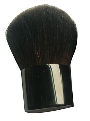 1 Pincel para Blush Fibra Sintética Portátil Metal Rosto ShangYang