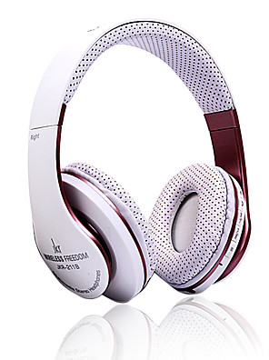 JKR JKR-208B אוזניות (רצועת ראש)Forנגד מדיה/ טאבלט / טלפון נייד / מחשבWithעם מיקרופון / DJ / בקרת עצמה / גיימינג / ספורט / מבטל רעש /