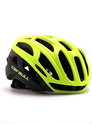 Capacete(Branco / Verde / Vermelho / Preto / Azul / verde claro / Roxo,PC / EPS) -Montanha / Estrada / Esportes-Mulheres / Homens /