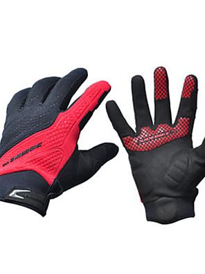 Sidebike® כפפות ספורט/ פעילות לנשים / לגברים / כל כפפות רכיבה קיץ כפפות אופניים נגד החלקה / חסין זעזועים / נושם / מתיחה על כל האצבעסיב