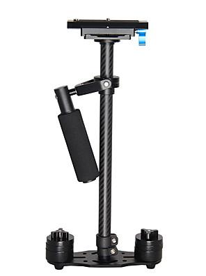 yelangu® profesionální 0,6m uhlíkových vláken ruční Video stabilizátor kamera china