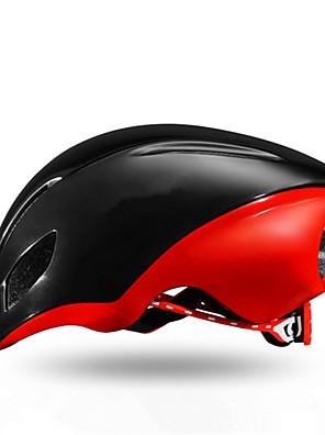 קסדה-יוניסקס-הר / כביש / חצי צדפה-רכיבה על אופניים / רכיבה על אופני הרים / רכיבה בכביש / רכיבת פנאי(לבן / אדום / שחור,PC / EPS)15פתחי
