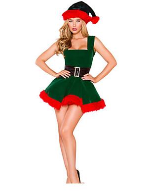 Cosplay Kostýmy Zelená Terylen Cosplay doplňky Vánoce / Karneval