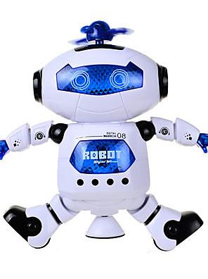 Musik Legetøj Model- og byggelegetøj / glimt Robot Plastik Ivory Til børn