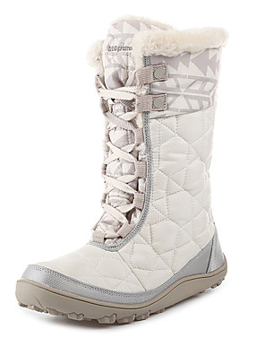 מגפיים עד אמצע השוק-לנשים-ספורט שלג(לבן / אפור / שחור)