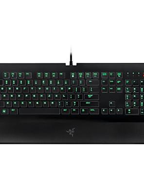 Gaming tastatur USB monokromatisk baggrundsbelysning Razer DeathStalker