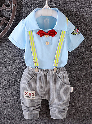 Boy Casual/Daily / Sports Solid Sets,Cotton Winter / Fall Clothing Set