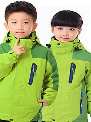Trilha Blusas Crianças Impermeável / Mantenha Quente / A Prova de Vento / Isolado / Confortável Primavera / Outono / Inverno TactelVerde