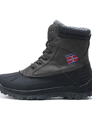 מגפיים עד אמצע השוק-לגברים-ספורט שלג(אפור / חאקי / שחור)