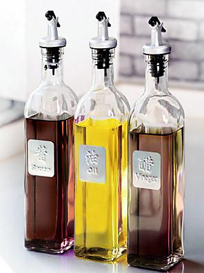 1 db forró balzsam üveg ecetet palack egy kis konyhai kellékek Gass szivárgásmentes kontroll olaj pot fűszerezés palack kupakkal
